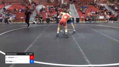 86 kg Quarterfinal - Jack Jessen, Wildcat Wrestling Club vs Maximus Hale, Pennsylvania RTC