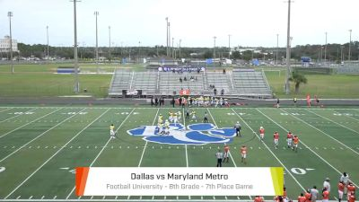 Dallas vs. Maryland - 2019 FBU National Championship | Barron Collier