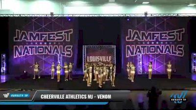 CheerVille Athletics MJ - Venom [2021 L4 Senior Coed Day 2] 2021 JAMfest: Louisville Championship