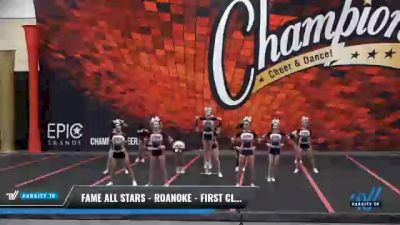 FAME All Stars - Roanoke - First Class [2021 L4 Senior Coed] 2021 Wolfpack Championship