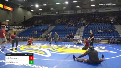 133 lbs Colten Carlson, SDSU vs Justin Thomas, OK