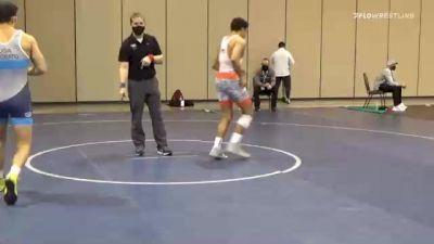 65 kg Prelims - Sammy Alvarez, Scarlet Knights Wrestling Club vs Gabriel Onorato, Pennsylvania RTC