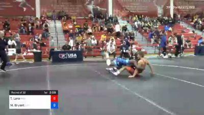 70 kg Prelims - Triston Lara, Panther Wrestling Club RTC vs Manzona Bryant, Lehigh Valley Wrestling Club