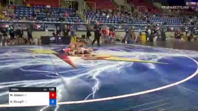 126 lbs Round Of 32 - Mason Gibson, Pennsylvania vs Hunter Sturgill, Tennessee