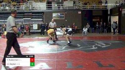 152 lbs 7th Place - Isaac Ruderman, Bullis School vs Chris Roybal, Mount Saint Joseph