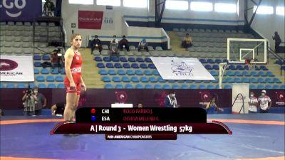 76 kg Rr Rnd 3 - Luisa Fernanda Mosquera Parra, Columbia vs Adeline Maria Gray, United States