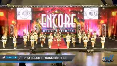 Pro Scouts - Rangerettes [2020 L3 Junior - D2 - Medium Day 1] 2020 Encore Championships: Houston DI & DII