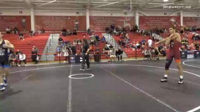 86 kg Prelims - Kyle Haas, Cowboy Wrestling Club vs Calvin Sund, Air Force Regional Training Center