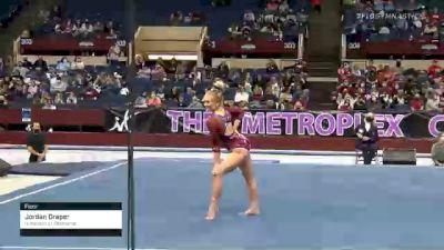 Jordan Draper - Floor, University of Oklahoma - 2021 Metroplex Challenge