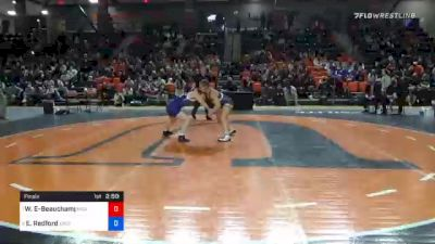 143 lbs Final - Waipuilani Estrella-Beauchamp, Midland vs Erin Redford, Eastern Oregon