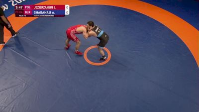 86 kg 3rd Place - Sebastian JEZIERZANSKI (POL) vs Ali SHABANAU (BLR)