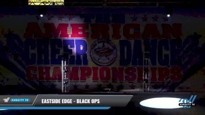 Eastside Edge - Black Ops [2021 L4 Senior Coed - D2 - Small Day 2] 2021 The American Celebration DI & DII