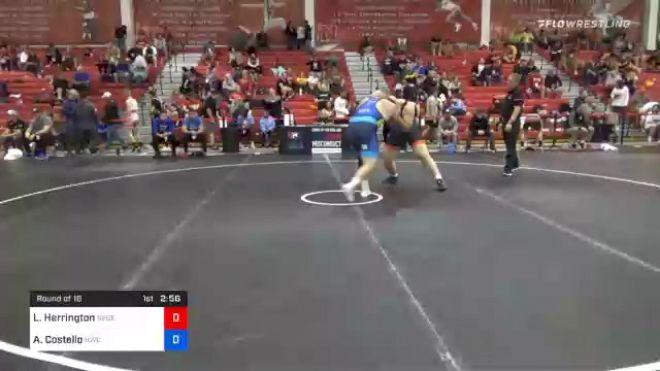 125 kg Prelims - Lee Herrington, Nebraska Golden Eagles Wrestling Club vs Aaron Costello, Hawkeye Wrestling Club