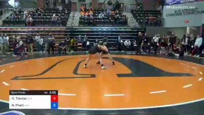 101 lbs Semifinal - Esthella Trevino, Southern Oregon vs Nina Pham, Wayland Baptist