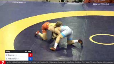 86 kg Final - Joel Shapiro, Cyclone RTC C-RTC vs John Poznanski, Scarlet Knights Wrestling Club