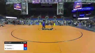 126 lbs Consolation - Teegan Vasquez, Montana vs Wilfried Tanefeu, North Dakota