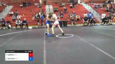 55 kg Semifinal - Taylor LaMont, Sunkist Kids Wrestling Club vs Joseph Harrison, MWC Wrestling Academy