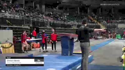 Christin Bandy - Vault, Illinois State University - 2021 GymQuarters Invitational