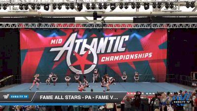 FAME All Stars - PA - Fame Vicious [2020 L4 Senior - Small Day 2] 2020 Mid-Atlantic Championships