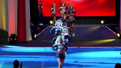 Twist & Shout Tulsa - Diamonds [2018 Senior Small Coed Semis] The Cheerleading Worlds