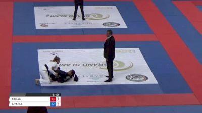 THAMARA SILVA vs ERIN HERLE Abu Dhabi Grand Slam Rio de Janeiro