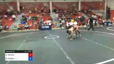 61 kg Prelims - Eron Haynes, Nebraska vs Michael McGee, Sunkist Kids Wrestling Club