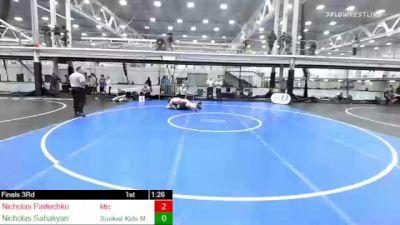 225 lbs 3rd Place - Nicholas Pavlechko, Mtc vs Nicholas Sahakyan, Sunkist Kids Monster Garage