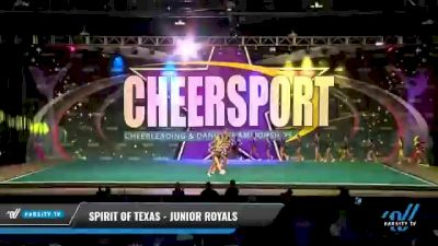 Spirit of Texas - Junior Royals [2021 L6 Junior Day 1] 2021 CHEERSPORT National Cheerleading Championship
