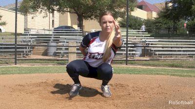 Megan Willis: Catcher's Receiving Drill Part 1