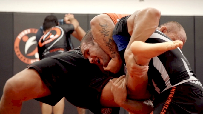 Cyborg & Rodolfo Vieira Train Wrestling