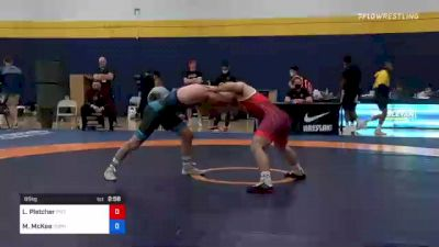 65 kg Consi Of 4 - Luke Pletcher, Pittsburgh Wrestling Club vs Mitchell McKee, Gopher Wrestling Club - RTC