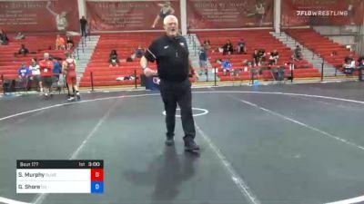 63 kg 7th Place - Spencer Murphy, Olivet Wrestling Club vs Graham Shore, Ohio
