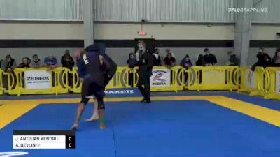JACOBE ANTJUAN KENDRICK vs ANDI DEVLIN 2020 American National IBJJF Jiu-Jitsu Championship