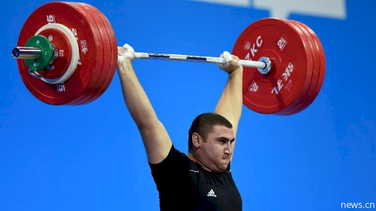 Simon Martirosyan (105+) Nearly Clean & Jerks 246kg At 2017 Junior Worlds