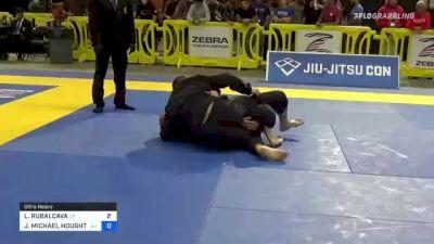 LUIS RUBALCAVA vs JEFFREY MICHAEL HOUGHTALING 2021 Pan Jiu-Jitsu IBJJF Championship