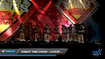Knight Time Cheer - LoveSpell [2020 L4.2 Senior - D2 - Small Day 2] 2020 Spirit Sports: Duel In The Desert