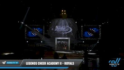 Legends Cheer Academy II - Royals [2021 L5 Junior Day 2] 2021 The U.S. Finals: Louisville
