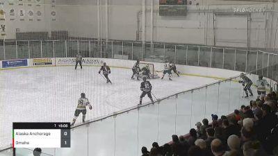 Full Replay: Omaha vs Alaska Anchorage | WCHA (M)