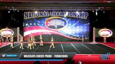 Wildcats Cheer Pride - Ferocious [2021 L6 Senior Coed - Small Day 2] 2021 ACP: Midwest World Bid National Championship
