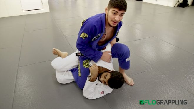 Dillon Danis Shows Three Submission Attacks From The Backstep Position