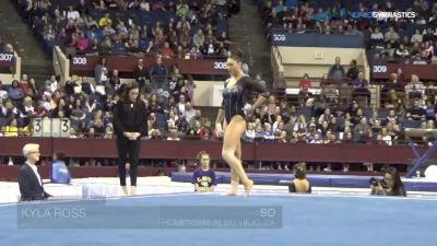 Kyla Ross - Floor, UCLA - Metroplex Challenge (NCAA)