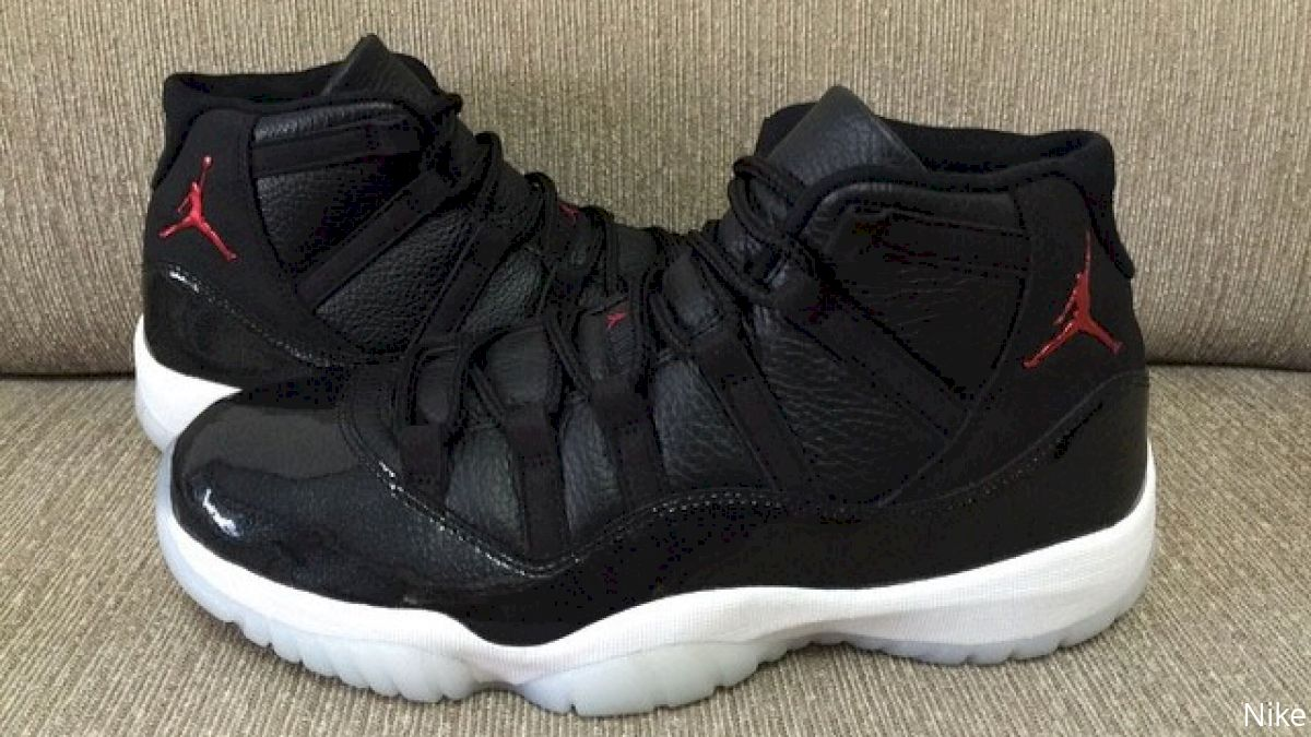 """sports shoes de051 56f63 Air Jordan 11 """"72-10"""". Colorway  Black Gym Red-White-Anthracite"""