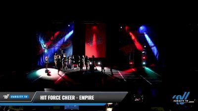 Hit Force Cheer - Empire [2021 L3 Junior - D2 - Medium Day 3] 2021 ASCS: Tournament of Champions & All Star Prep Nationals