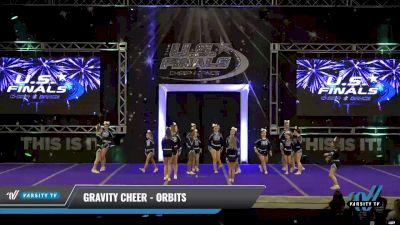 Gravity Cheer - Orbits [2021 L2 Junior - Small Day 2] 2021 The U.S. Finals: Ocean City