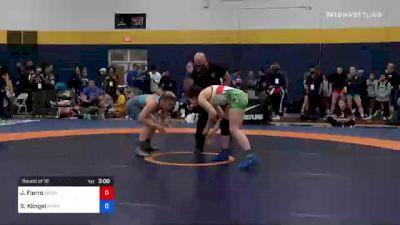 57 kg Round Of 16 - Jocelyn Fierro, Washington vs Samantha Klingel, Army (WCAP)