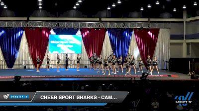 Cheer Sport Sharks - Cambridge - Frilled Sharks [2020 L1 Junior - Medium Day 2] 2020 The American Majestic DI & DII