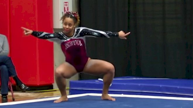 Nina McGee Brings Spunky To A Whole New Level With Perfect 10 Floor Routine