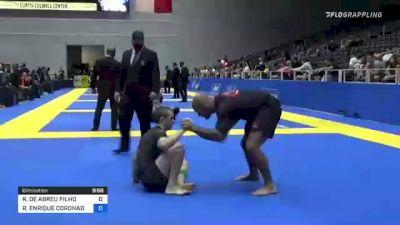 ROBERTO DE ABREU FILHO vs RUBEN ENRIQUE CORONADO 2021 World IBJJF Jiu-Jitsu No-Gi Championship