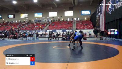 97 kg Rnd Of 16 - Hunter Mooring, Colorado Mesa vs Michael Boykin, TMWC/ WOLFPACK WC