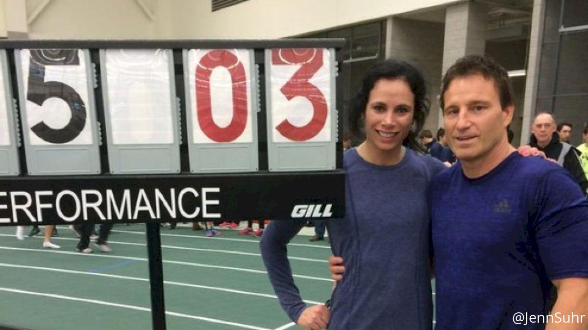 Jenn Suhr Sets Indoor Pole Vault World Record